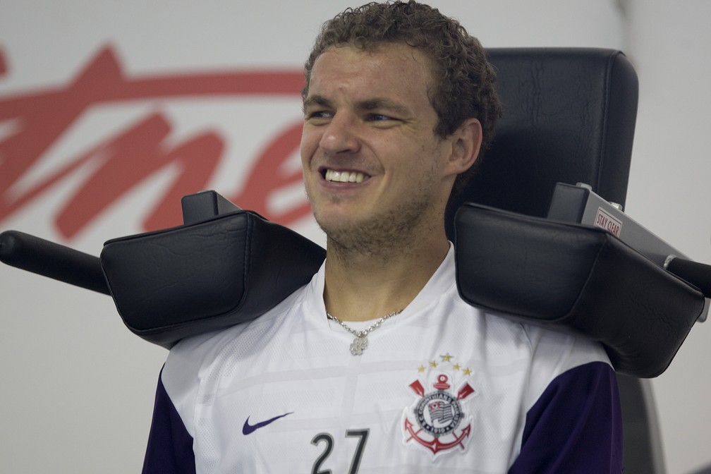 O jogador realizou 159 jogos pelo Corinthians — © Daniel Augusto Jr