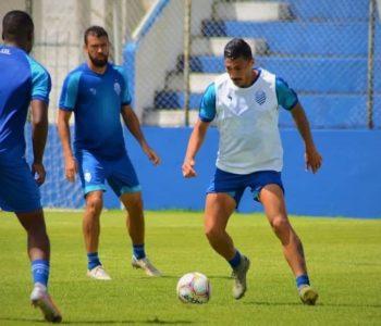 O CSA entra em campo nesta quarta-feira (29) diante do Coruripe pelo campeonato Alagoano — © Augusto Oliveira