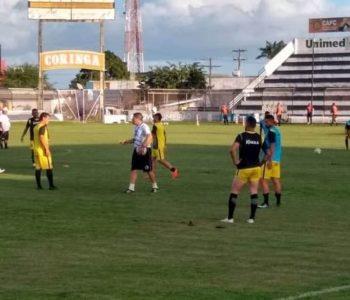 Novo técnico do ASA Léo Gaiano acredita na experiência da equipe — © Ascom/ASA