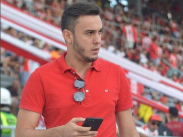 Vice-presidente de futebol do CRB, Thiago Paes — © Reprodução