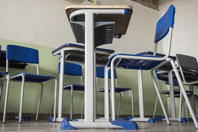 Sala de aula - Alunos terão redução nas mensalidades em escolas particulares