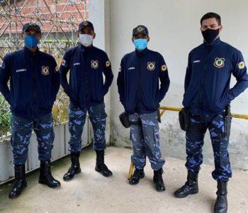Guardas municipais de Santana do Mundaú