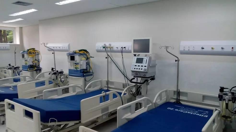 Leitos de hospital - reprodução