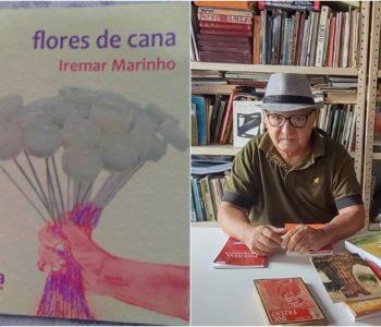 """Poeta palmarino Iremar Marinho publica livro """"Flores de Cana"""" — © Divulgação"""