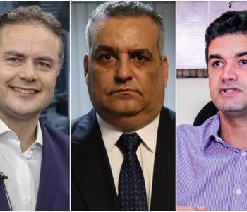 Renan Filho, Alfredo Gaspar e Rui Palmeira