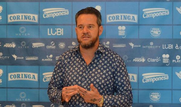 Argel Fucks treinador do CSA — © Augusto Oliveira
