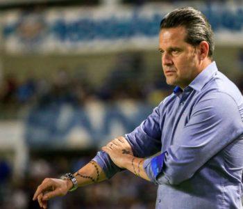 Argel Fuchs, ex-treinador do CSA — © Aiton Cruz