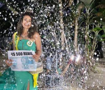 Concurso da Rainha da Laranja 2020, em Santana do Mundaú — © Assessoria