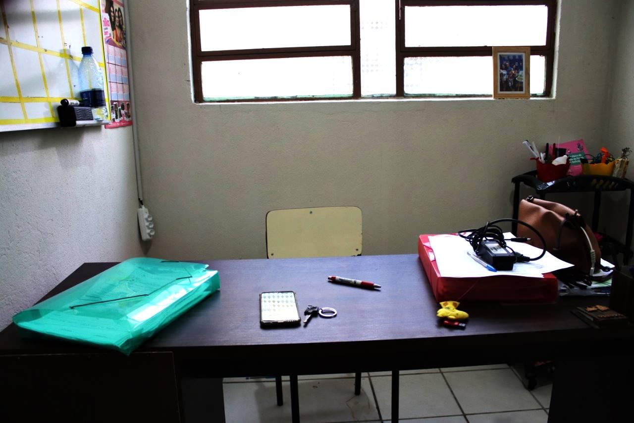Notebook e impressora foram furtados sala da coordenação — © Oziel Nascimento/BR104