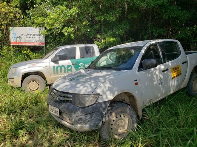 Operação conjunta combate caça e venda de animais silvestres em Alagoas — © Cortesia