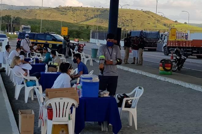PRF realiza mais uma ação educativa em Alagoas — © PRF