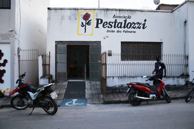 Pestalozzi de União dos Palmares é arrombada e tem equipamentos furtados — © Oziel Nascimento/BR104