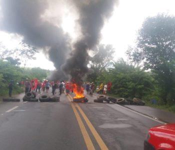 Protestos bloqueiam rodovias em União dos Palmares e Campo Alegre — © Ascom PRF