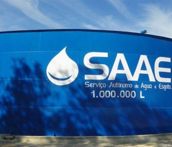 Saae orienta que moradores deixem as caixas d'águas abastecidas — © Ilustração/Reprodução