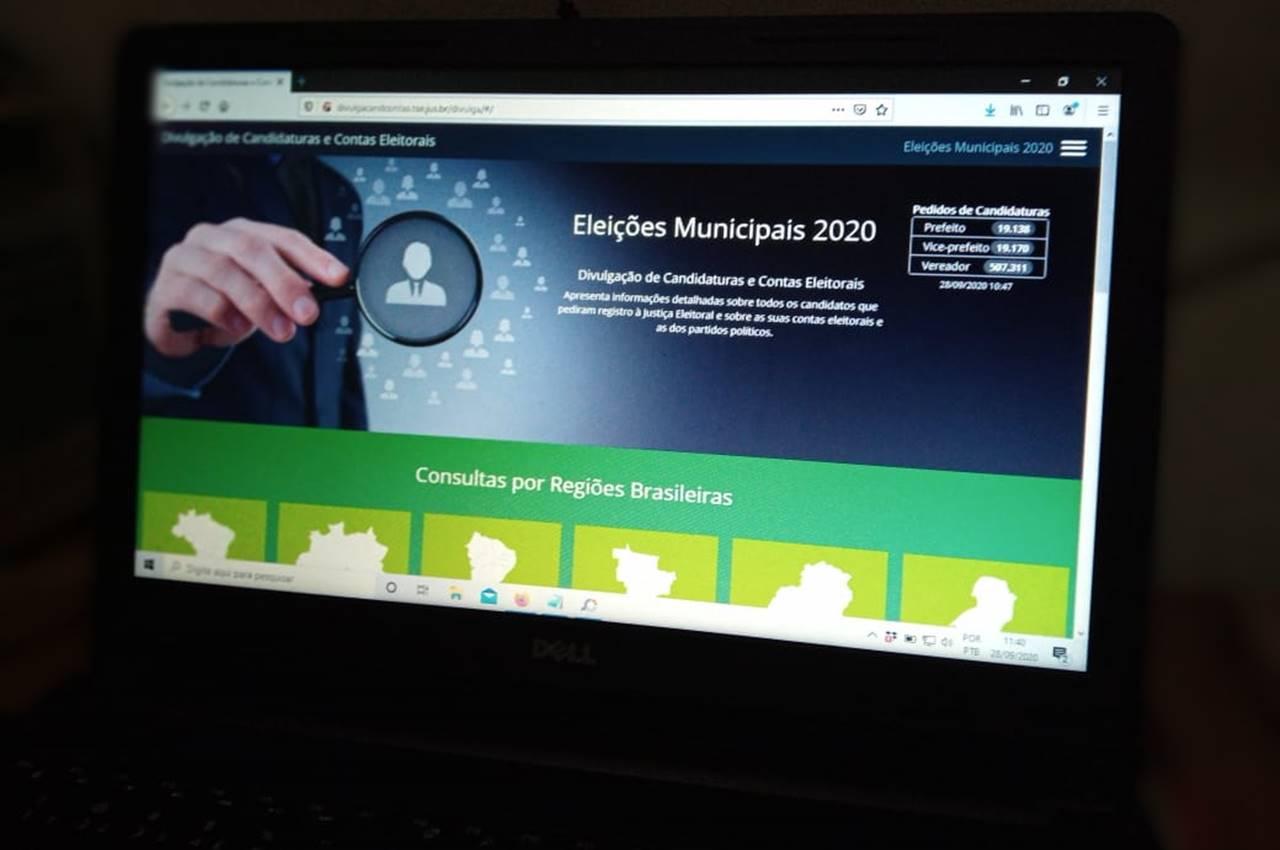 TSE divulga nova plataforma para consultar candidaturas — © Gustavo Lopes/BR104
