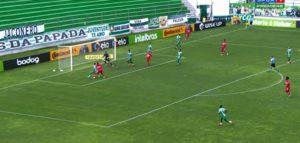 CRB perde por 2 a 0 para o Juventude no jogo de ida da Copa do Brasil — © Reprodução