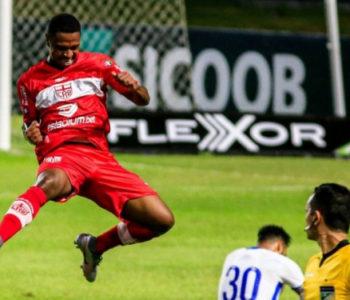 Iago Dias autor de dois gols do Galo esta noite, no Rei Pelé — © Ailton Cruz
