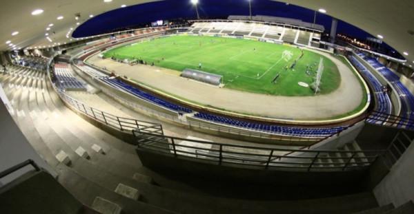 Cinquentenário do Estádio Rei Pelé, em Maceió — © Reprodução
