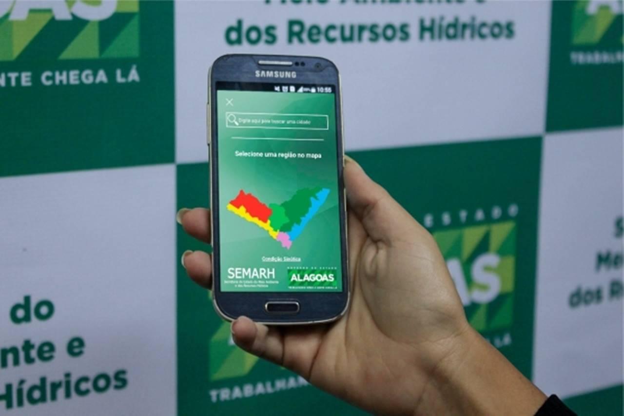 Aplicativo para previsão do tempo está disponível para sistema Android — © Agência Alagoas