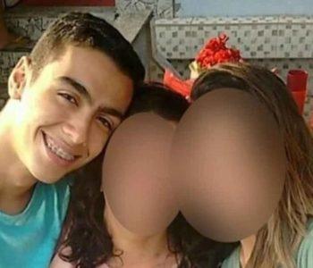 Caio Gomes Soares morreu na hora nos braços da irmã, de 24 anos — © Reprodução