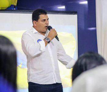 Caju, candidato a prefeito em União dos Palmares — © BR104