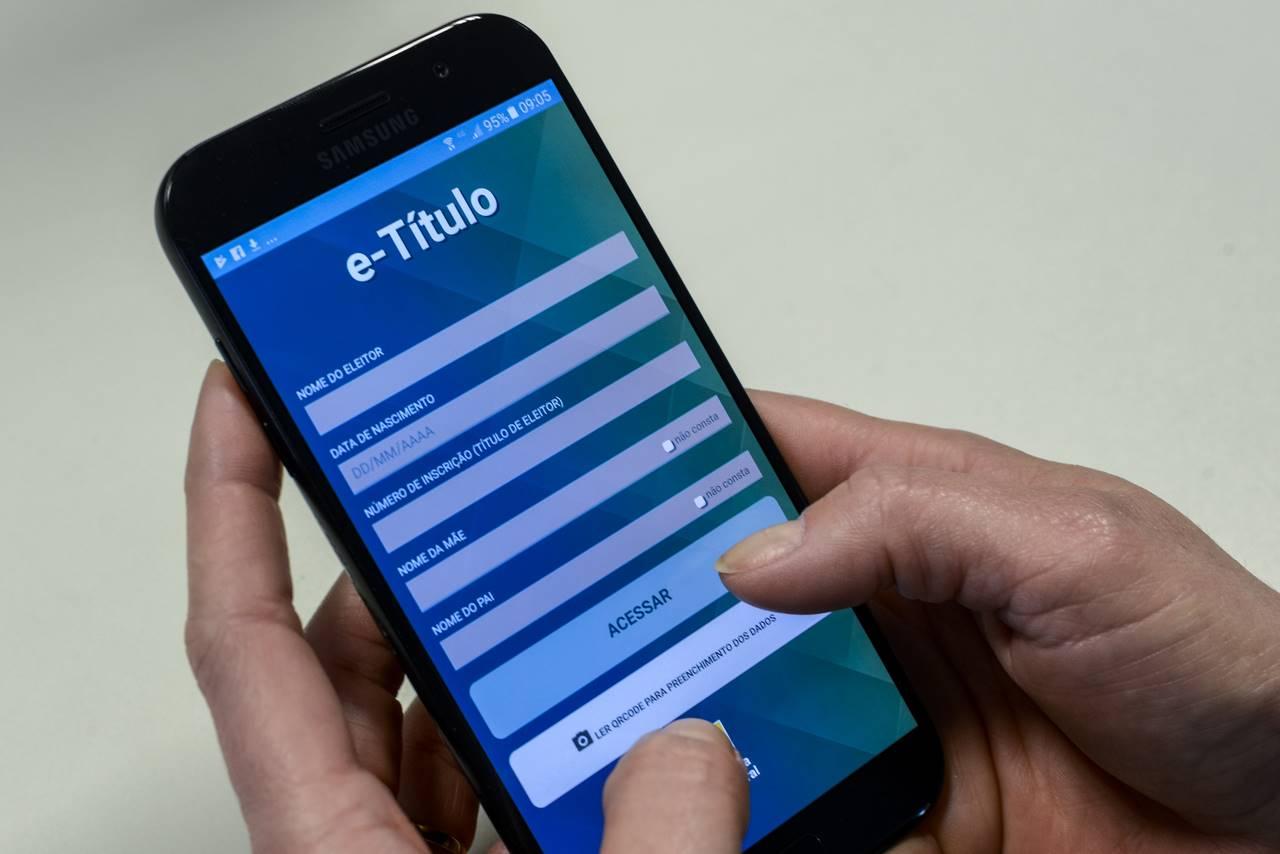 E-Título pode ser usado como documento oficial no dia da votação — © Gazeta do Povo