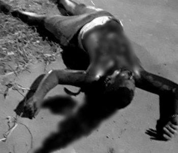 Homem é morto a tiros em Murici — © Cortesia ao BR104