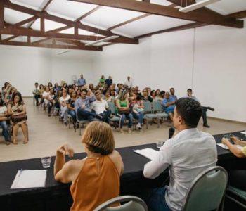 JHC propõe gestão ao lado dos professores — © Assessoria