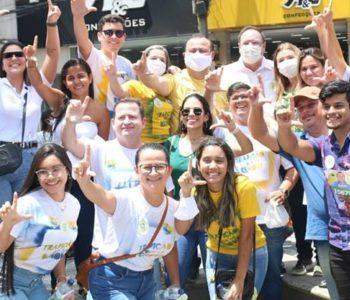 Luciano Barbosa anuncia plano de desenvolvimento para a juventude de Arapiraca — © Assessoria