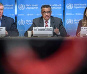 Nessa segunda (19), OMS afirmou que mundo pode estar na segunda onda da pandemia — © Fabrice Coffrini/AFP