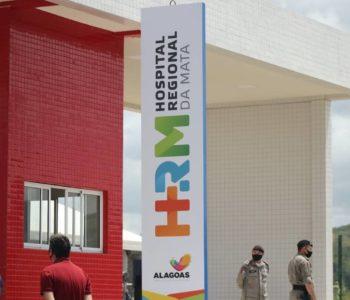 Hospital Regional da Mata (HRM), em União dos Palmares — © BR104