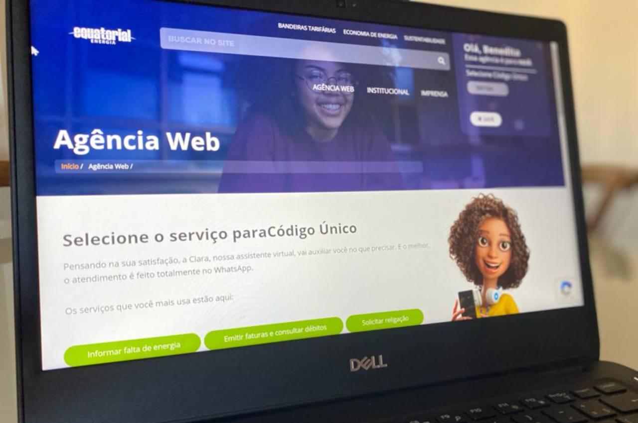 Solicitação também pode ser feita pelo site da Equatorial Alagoas — © Divulgação