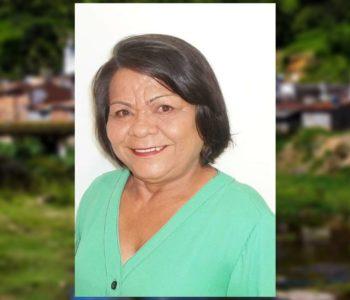 Vereadora Benedita Nicolau morre em Santana do Mundaú aos 53 anos — © Reprodução