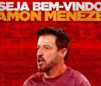 Novo treinador do CRB, Ramon Menezes — © Reprodução