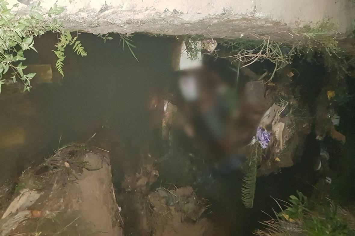 Corpo de mulher é encontrado dentro de vala no B. Bentes, em Maceió — © CBM