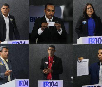 Debate à Prefeitura de União dos Palmares reúne cinco candidatos — © Alyson Santos/BR104
