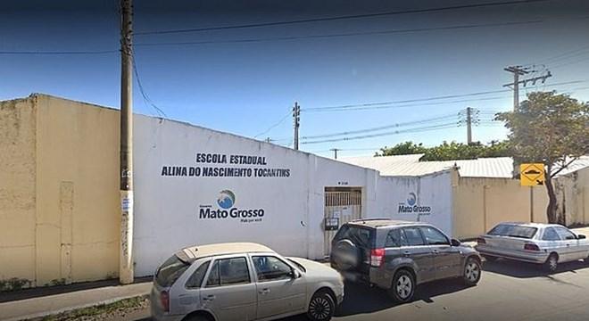 Escola estadual Alina Tocantins — © Reprodução