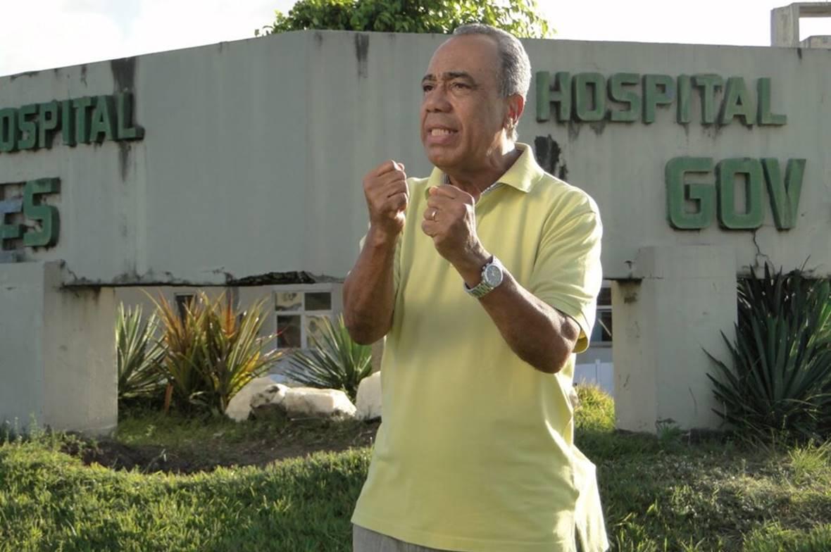 João Alves estava internado desde a semana passada em Brasília em estado grave — © Reprodução