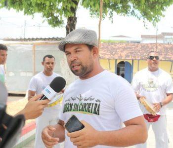 Professor Big, do grupo Tradição Capoeira — © Oziel Nascimento/BR104
