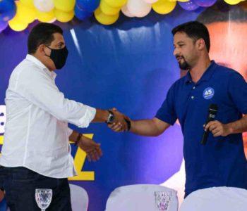 Caju e Rodrigo Cunha