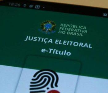 A justificativa pode ser feita através do aplicativo e-Título ou pelo site da Justiça Eleitoral — © Agência Brasil