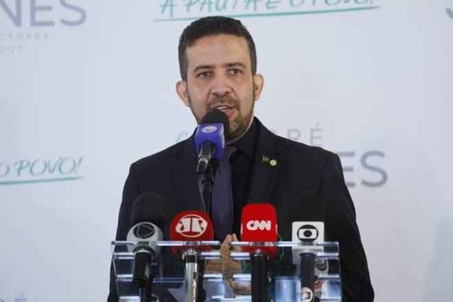 André Janones lança oficialmente sua candidatura à presidência da Câmara — © Najara Araújo/Câmara dos Deputados