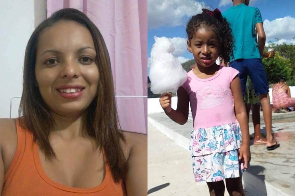 Brenda Carollyne, de 5 anos, foi morta pela própria mãe com requintes de crueldade — © Reprodução