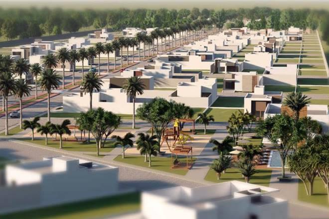 Condomínio é considerado o maior empreendimento imobiliário da cidade — © Reprodução