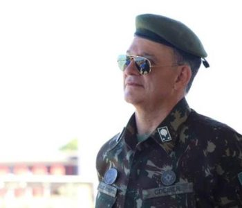 Diretor de Avaliação da Educação Básica do Inep, general Carlos Roberto — © Reprodução