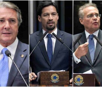 Fernando Collor, Rodrigo Cunha e Renan Calheiros