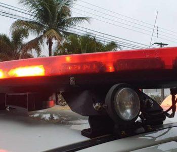 Giroflex do carro da polícia — © Reprodução/Ilustração