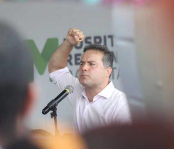 Governador Renan Filho — © BR104