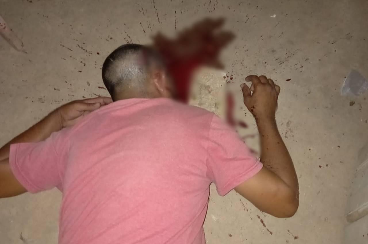 Homem é agredido com pedradas na cabeça em São José da Laje — © Reprodução