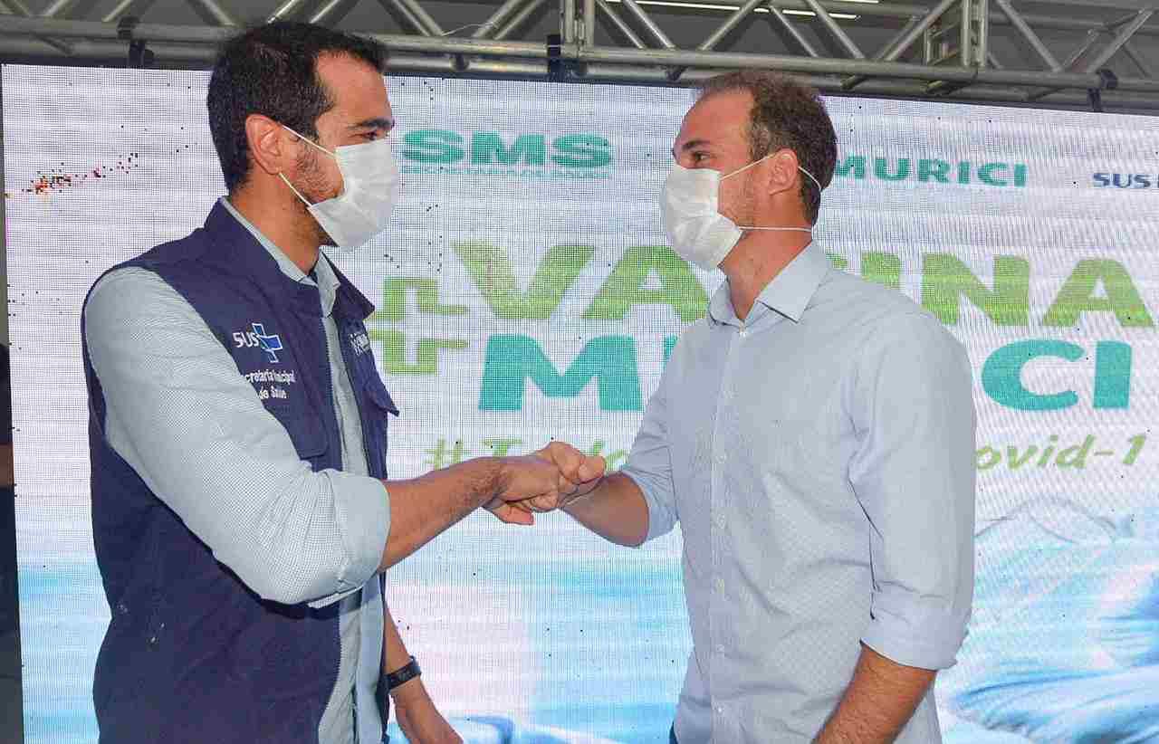 Imunização contra a Covid em Murici Imunização contra a Covid-19 em Murici — © Jaílson Colacio